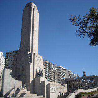 en el monumento a la bandera, se sortea el mundial u17 de basquet