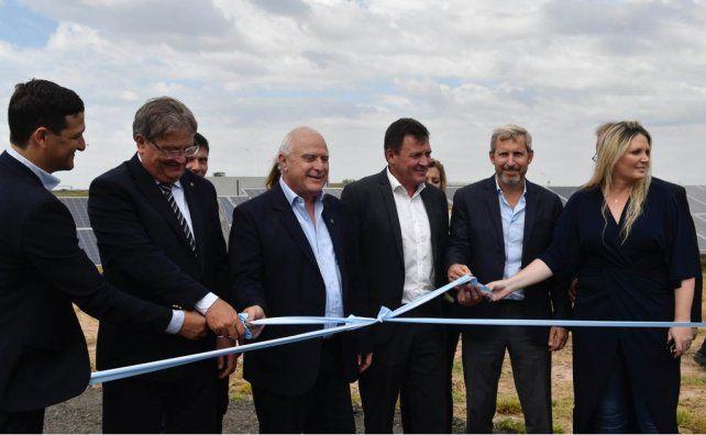 Se inauguró el primer Parque Fotovoltaico de la provincia