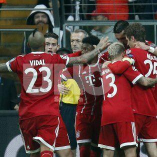 el münich paso caminando a los cuartos de la champions