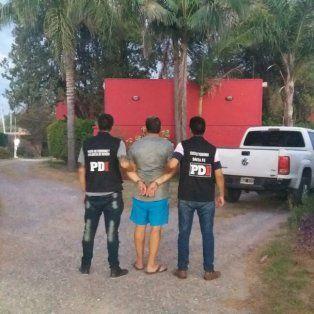 La detención se produjo en la tarde de ayer, en un motel de Blas Parera al 9200.