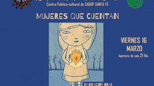Mujeres narradoras brindarán una noche de historias y cuentos en Santa Fe