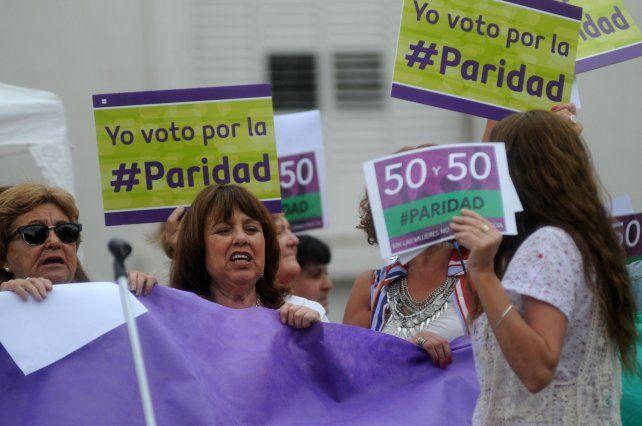 Iniciativa. Alicia Guriérrez fue una de las diputadas que impulsó el proyecto que recibió media sanción a fines de 2016 y luego perdió estado parlamentario porque el Senado no la trató.