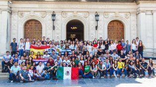 Del mundo a Santa Fe: La UNL recibió a 117 estudiantes del mundo