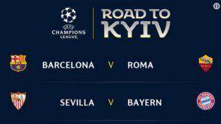 Quedaron definidos los cuartos de la Champions League