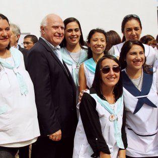 la provincia inauguro una escuela especial en villa minetti