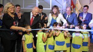 Lifschitz inauguró un nuevo Jardín de Infantes en San Carlos Sud