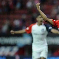 San Lorenzo volvió a sonreír ante Olimpo