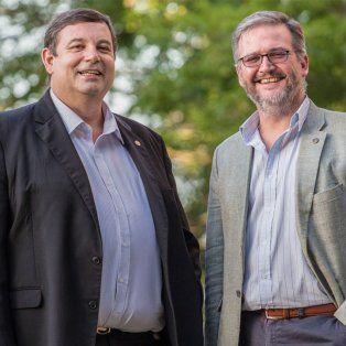 Enrique Mammarella y Claudio Lizárraga asumieron como rector y vicerrector, respectivamente, de la Universidad Nacional del Litoral (UNL).