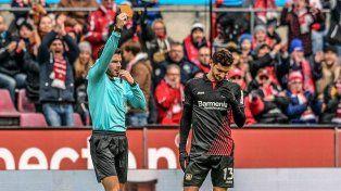Una jornada negra para el Pipa Alario en el Bayer Leverkusen