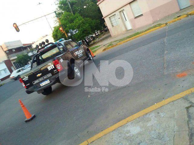 Murió un peatón embestido por un motociclista en la ciudad de San Justo