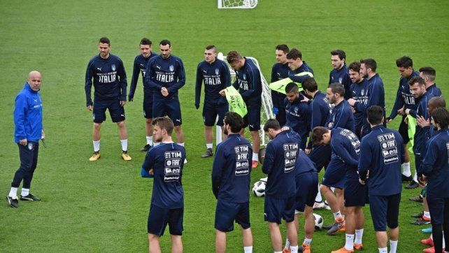 Italia puso manos a la obra para enfrentar a la Argentina