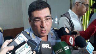 Seguro. Marcelo Villanúa en plena conferencia de prensa.