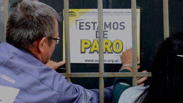 Los empleados municipales arrancan un paro de 48 horas