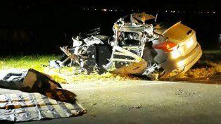 accidente fatal en la autopista santa fe-rosario, a la altura de maciel