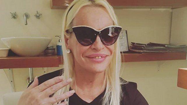 Silvia Süller, internada en grave estado tras un infarto