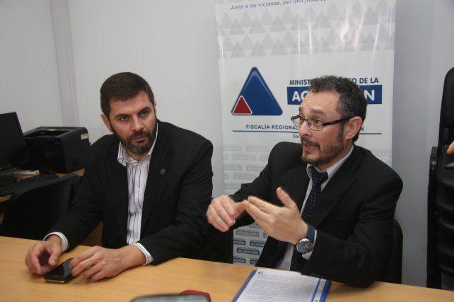 Investigación. Alejandro Tognolo de PDI y Omar De Pedro del MPA desbarataron la red.