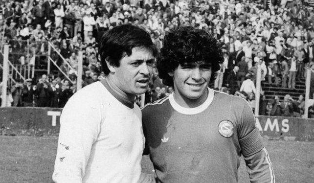 El emotivo mensaje de Maradona para Houseman