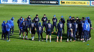 Italia tiene el equipo titular para enfrentar a la Argentina
