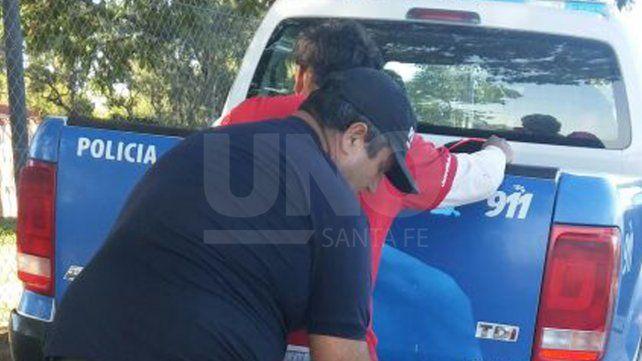 Aprehendieron a dos delincuentes armados que intentaron asaltar a un trabajador