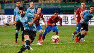 Uruguay le ganó con autoridad a República Checa