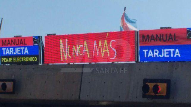 Conmemorarán el Día de la Memoria, por la Verdad y la Justicia en el Túnel Subfluvial
