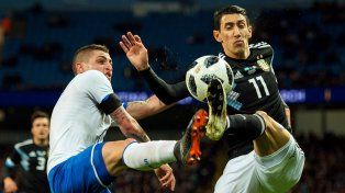 Di María fue desafectado de la Selección por una lesión