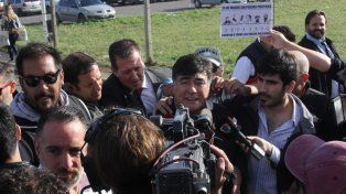 Carlos Zannini salió liberado del penal de Ezeiza