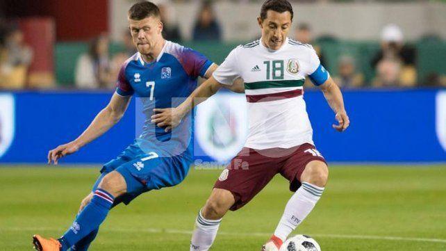 Clara derrota de Islandia, el primer rival de Argentina