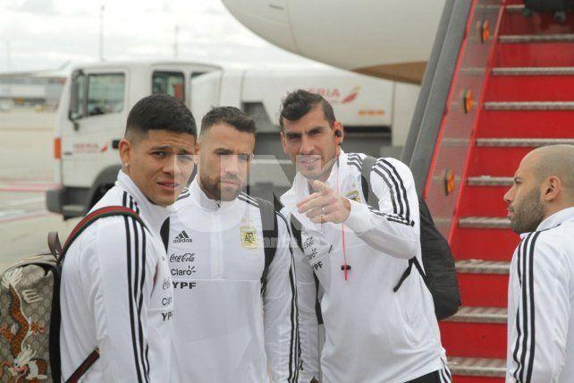 Argentina se instaló en Madrid para enfrentar a España