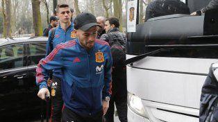 David Silva se bajó del amistoso frente a Argentina