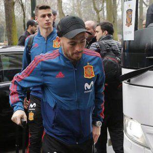 david silva se bajo del amistoso frente a argentina