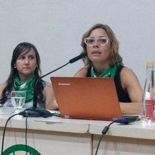 Reconocimiento. En su visita a la ciudad, Mariana Carbajal recibió el premio Virginia Bolten otorgado por el Concejo Municipal.