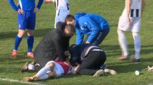 Conmoción en Croacia por el fallecimiento de un jugador en pleno partido