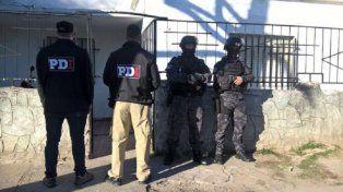 El día en que se produjo la detención de los cuatro delincuentes.