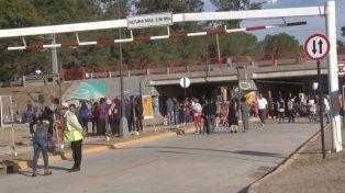 Los barrios Chalet y Centenario ya están unidos por un cruce seguro