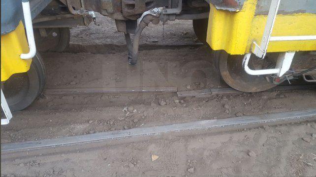 Descarriló un tren de Belgrano Cargas