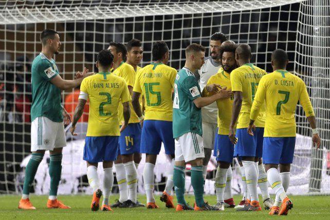 Brasil se tomó una pequeña revancha ante Alemania