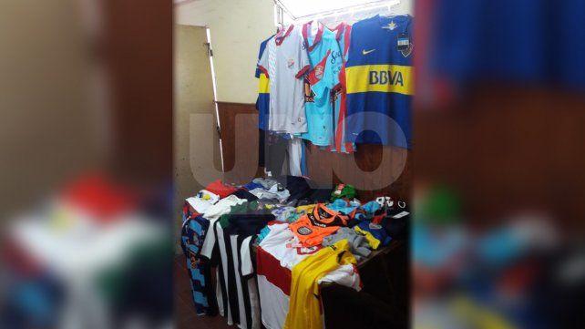 Detuvieron a dos ladrones y recuperaron las prendas robadas en un local de Monte Vera