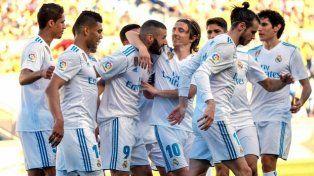 Real Madrid se aprovechó de un débil Las Palmas
