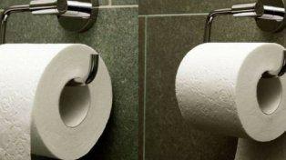 Cuál es la manera correcta de colgar el papel higiénico según quien lo patentó hace 127 años