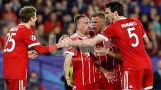 Bayern Munich se lo dio vuelta a Sevilla como visitante