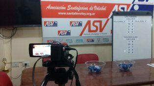 Se confirmó el fixture de la Primera División de la Liga Santafesina de Vóleibol