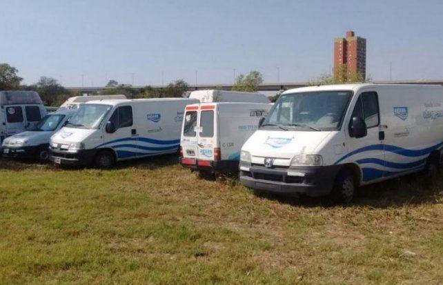 Al mejor postor: estos son los vehículos que vende Aguas Santafesinas