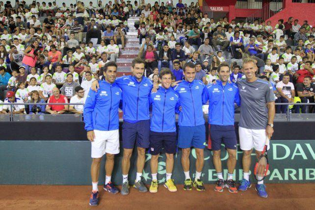 El equipo argentino de la Davis está listo para el gran desafío
