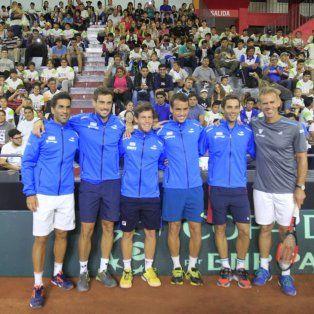 el equipo argentino de la davis esta listo para el gran desafio