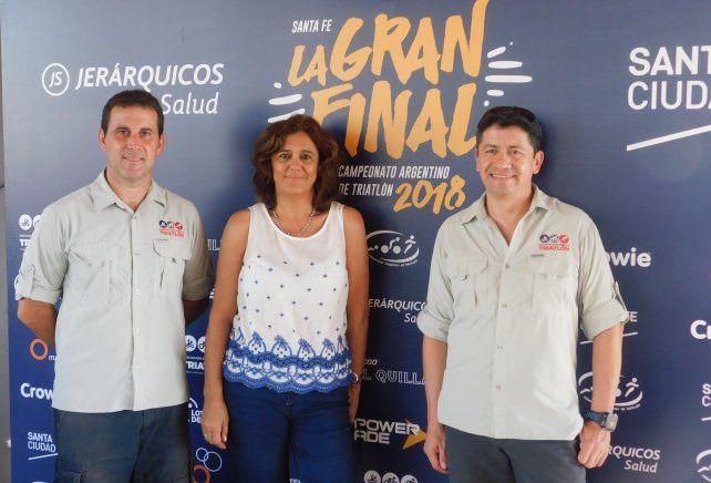 Se lanzó el Campeonato Argentino de Triatlón