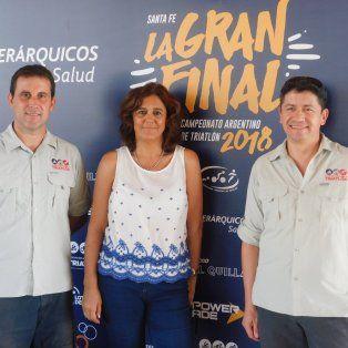 se lanzo el campeonato argentino de triatlon