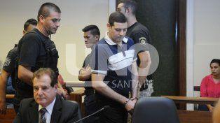 En tribunales. El imputado permanece detenido desde el día del crimen.