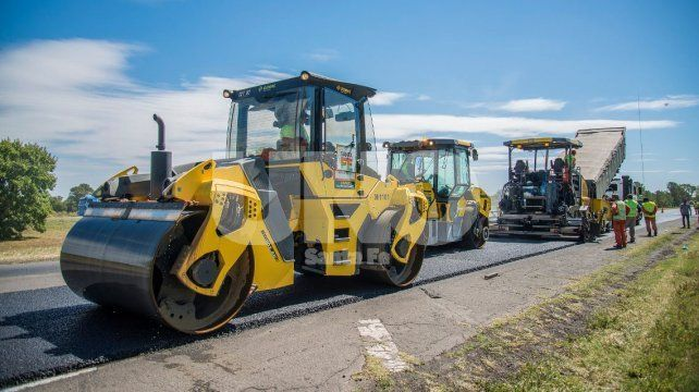 La provincia ya ejecutó el 45% de los trabajos de repavimentación en la autopista Santa Fe-Rosario