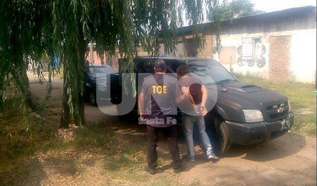 Cayó preso un delincuente con captura por portación ilegítima de arma de fuego